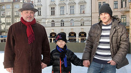 Michal Pavlíček se syny.