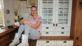 Vendula Svobodová si útulný domeček zařídila v Říčanech u Prahy.