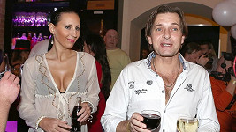 Martin Pouva s Petrou Friedlovou.