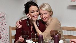 Agáta Hanychová a Veronika Žilková.