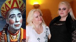Marfuša a Monika Štiková s dcerou Charlotte. Poznáte rozdíl?