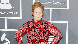 Adele na Grammy Awards 2013.