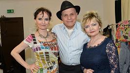 Jan Přeučil se sestrami Janou Yngland a Evou Hruškovou