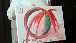 Údajný obraz Ivety k narozeninám Rychtáře v den její sebevraždy. Nelže tu někdo?