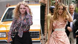 Carrie v mladším a starším podání.