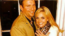 Jamie Lynn Spears a její snoubenec Jamie Watson.