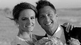 Sandra Rosová se svým manželem Chadem.