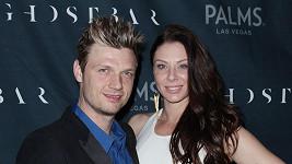 Nick Carter s manželkou Lauren Kitt