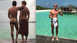 Plavky jsou pro snoubence na Maledivách zbytečností.