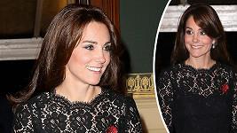 Vévodkyně Kate rozdávala úsměvy.