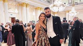 Jitka Nováčková s přítelem Timem