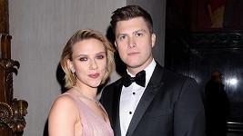 Scarlett Johansson a Colin Jost se stali rodiči.