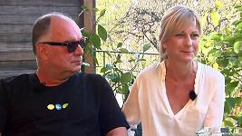 Ondřej Trojan s manželkou Barborou