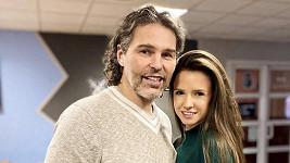 Jaromír Jágr s přítelkyní Dominikou