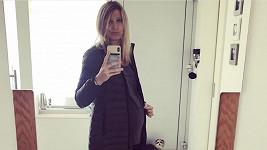 Lucie Šafářová se těší na první dítě.