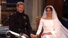 Meghan si na svatbu vyžádala jen decentní make-up.