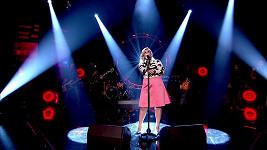 Kelly Clarkson během kritizovaného vystoupení v televizní show.
