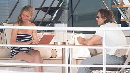 Gwyneth Paltrow a Brad Falchuk na Capri