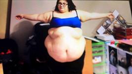 Alysha McNair ve svém váhově nejextrémnějším období