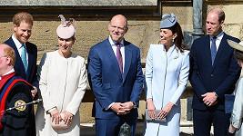 Mezi královskými vévodkyně Meghan chyběla.
