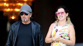 Al Pacino se svou novou známostí.