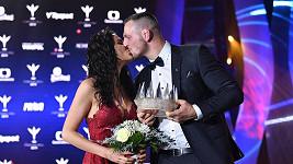 Judista Lukáš Krpálek s manželkou