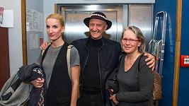 Adela Vinczeová s rodiči
