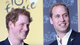 William (vpravo) půjde Harrymu za svědka.