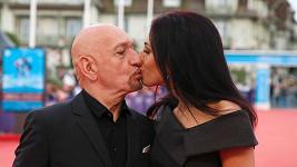 Ben Kingsley s manželkou