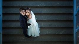 Svatební záběry seshora teď frčí. Ilustrační foto