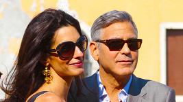 George Clooney s manželkou Amal Alamuddin
