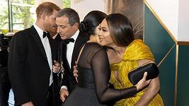 Harry domluvil své ženě práci během premiéry Lvího krále.
