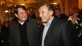 Karel Gott a Ladislav Štaidl byli blízkými přáteli.