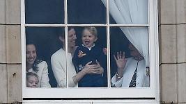 Princ George je kouzelný.