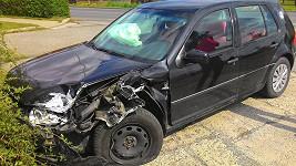 Takhle dopadl vůz muže, který prý v opilosti naboural do Dominiky Mesarošové.