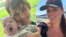 Alena Šeredová má krásnou rodinku.