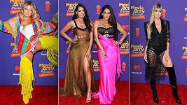 Modely z předávání cen MTV