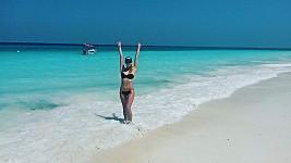 Gabriela Franková na dovolené