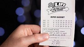 Tenhle tiket zajistil mladému Australanovi 75 miliónů