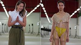 Tereza Vu předvedla svou kolekci na pražském týdnu módy.