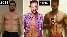 Jakub Kraus v roce 2013 a dnes