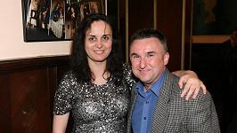 Jaroslav s nyní již manželkou Michaelou