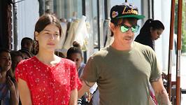 Anthony Kiedis s Helenou Vestergaard