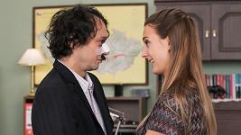 Bára Poláková a Pavel Liška v sitcomu Marta a Věra