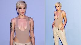 Halsey na módní přehlídce návrháře Toma Forda v New Yorku