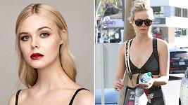 Talentovaná hollywoodská hvězda Elle Fanning (19) to s kondicí myslí vážně
