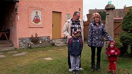Lenka a Ladislav s vnoučaty