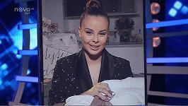 Monika Bagárová ve finále SuperStar ukázala i dcerku Rumiu.