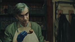 Martin Myšička v roli univerzitního profesora kapitána Karla Faita v seriálu Boží mlýny