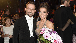 Olga Šípková a Marek Dědík